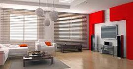 Kırmızı Beyaz Ev Dekorasyon Örnekleri